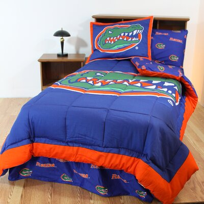 NCAA Florida Gators Reversible Bed in a Bag Set Size: Queen