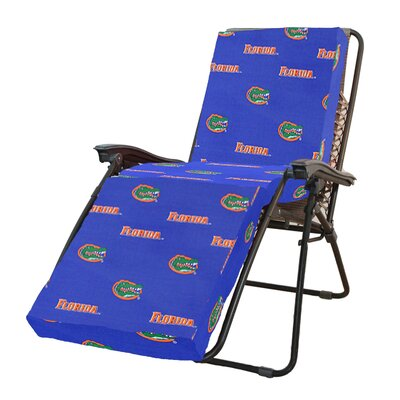 NCAA Florida Gators Outdoor Chaise Lounge Cushion