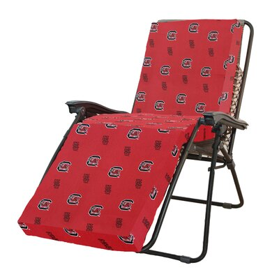 NCAA South Carolina Outdoor Chaise Lounge Cushion