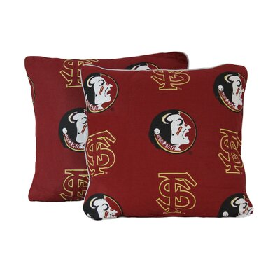 NCAA Florida State Decorative Cotton Throw Pillow
