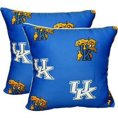NCAA Kentucky Decorative Cotton Throw Pillow