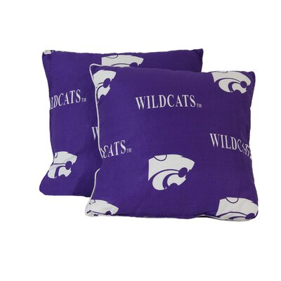 NCAA Throw Pillow NCAA Team: Kansas State