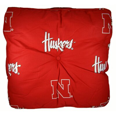 NCAA Nebraska Floor Pillow