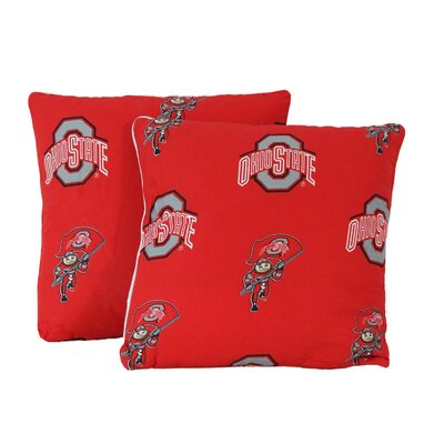 NCAA Throw Pillow NCAA Team: Ohio State