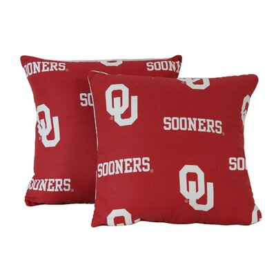 NCAA Throw Pillow NCAA Team: Oklahoma