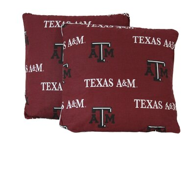 NCAA Texas A&M Cotton Throw Pillow