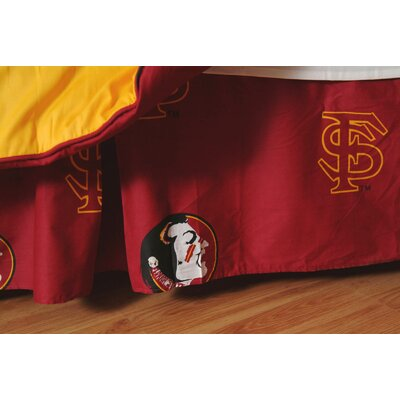NCAA Florida State Printed Dust Ruffle Size: Full