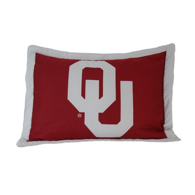 NCAA Oklahoma Pillow Sham