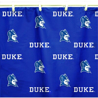 NCAA Duke Cotton Printed Shower Curtain