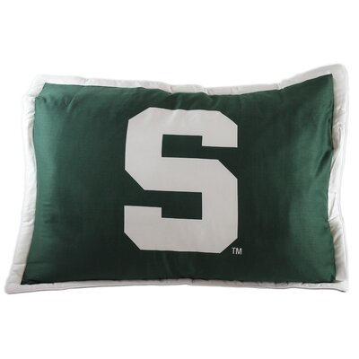 NCAA Michigan State Pillow Sham