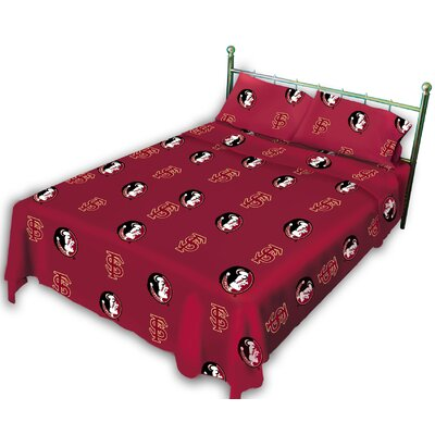 NCAA Florida State Sheet Set Size: Queen