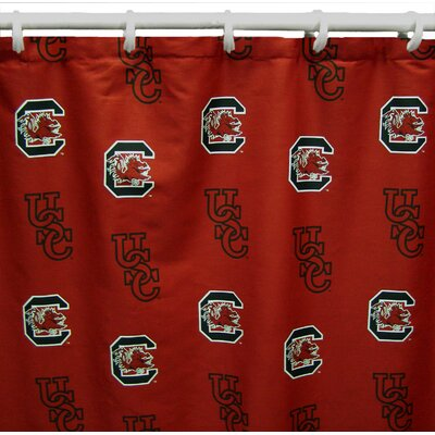 NCAA South Carolina Cotton Shower Curtain
