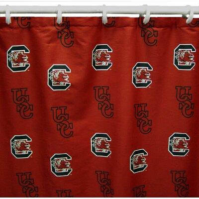 NCAA South Carolina Cotton Shower Curtain