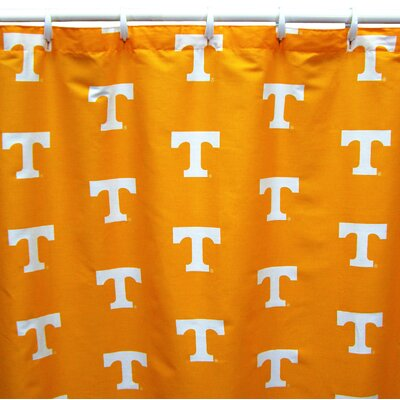 NCAA Tennessee Cotton Shower Curtain