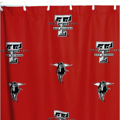 NCAA Texas Tech Cotton Shower Curtain