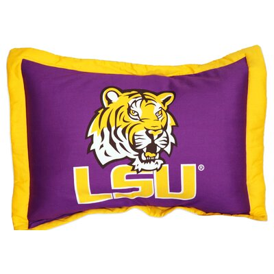 NCAA LSU Pillow Sham