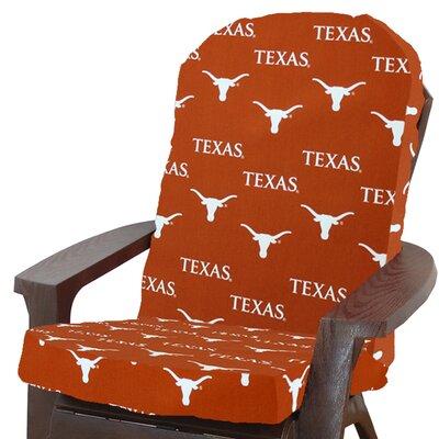NCAA Texas Longhorns Outdoor Adirondack Chair Cushion