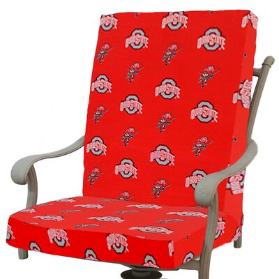 NCAA Ohio State Outdoor Dining Chair Cushion