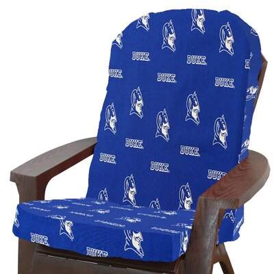 NCAA Outdoor Adirondack Chair Cushion