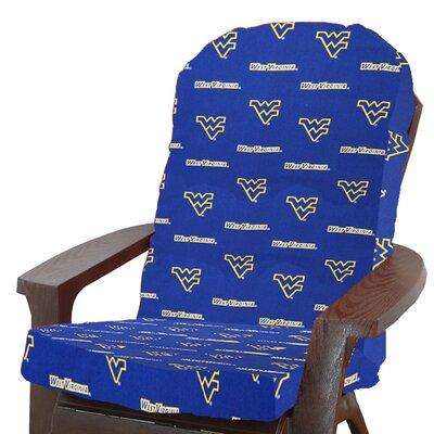 College Covers NCAA Adirondack Chair Cushion - NCAA Team: West Virginia