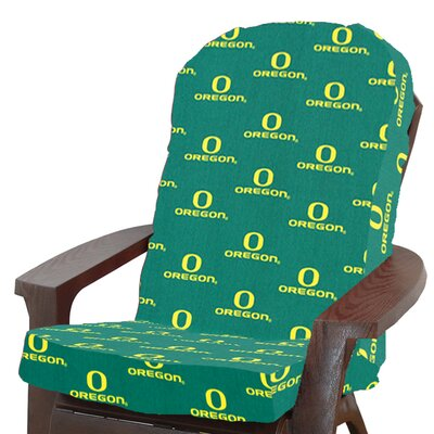 NCAA Oregon Outdoor Adirondack Chair Cushion