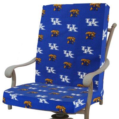 NCAA Kentucky Outdoor Dining Chair Cushion