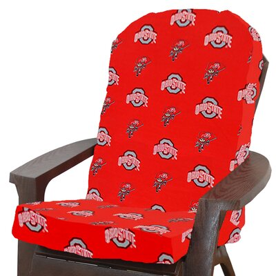 NCAA Ohio State Outdoor Adirondack Chair Cushion