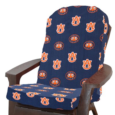 NCAA Auburn Outdoor Adirondack Chair Cushion