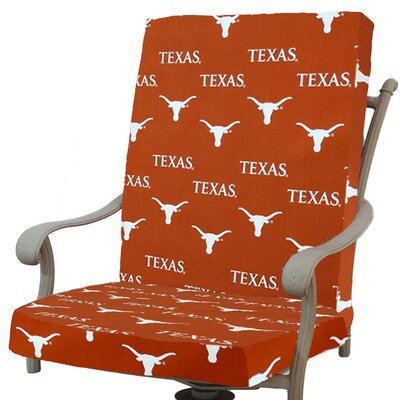 NCAA Texas Longhorns Outdoor Dining Chair Cushion