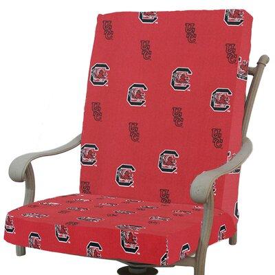 NCAA South Carolina Outdoor Dining Chair Cushion