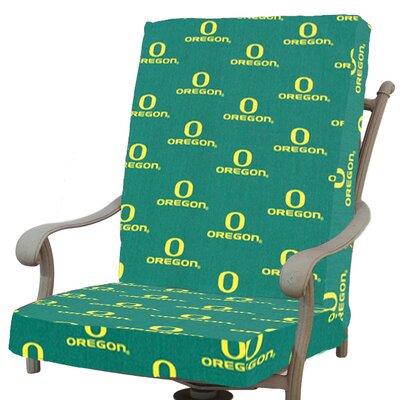 NCAA Oregon Outdoor Dining Chair Cushion