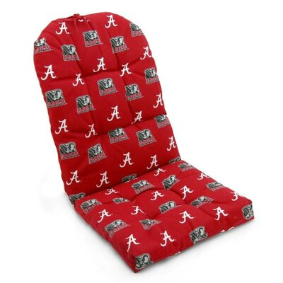 NCAA Alabama Outdoor Adirondack Chair Cushion
