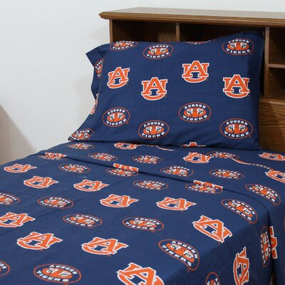 NCAA  Auburn Sheet Set Size: King