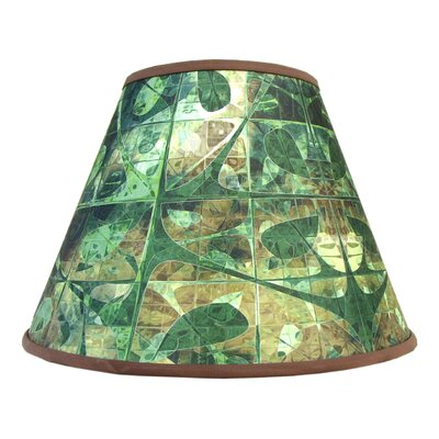 "Fractal Forest Art 14"" Rayon Empire Lamp Shade 151007A"