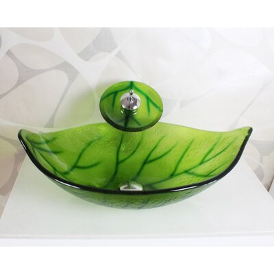 Glass Specialty Vessel Bathroom Sink