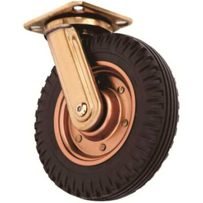Fixed Heavy Duty Industrial Wheel (Set of 2)