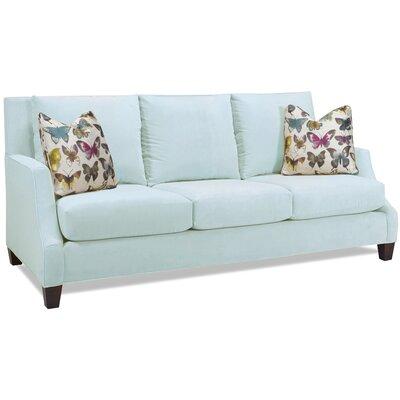Estey Sofa Body Fabric: Aqua