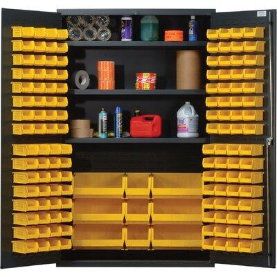 """78"""" H x 48"""" W x 24"""" D Welded Storage Cabinet QSC-48SRD"""