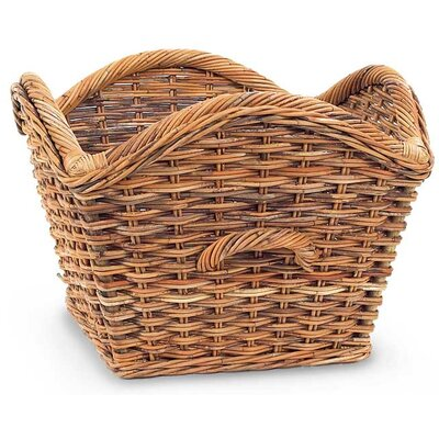 French Country Laurel Rattan Basket MB5105A