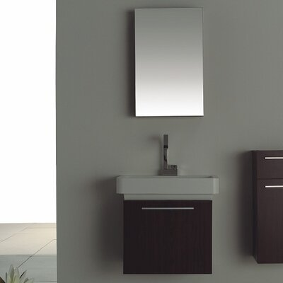 Renata 25.25 Single Bathroom Vanity Set with Mirror