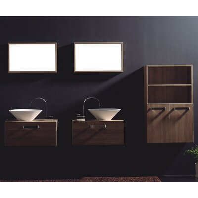 Cosimo 25.63 Single Bathroom Vanity Set with Mirror