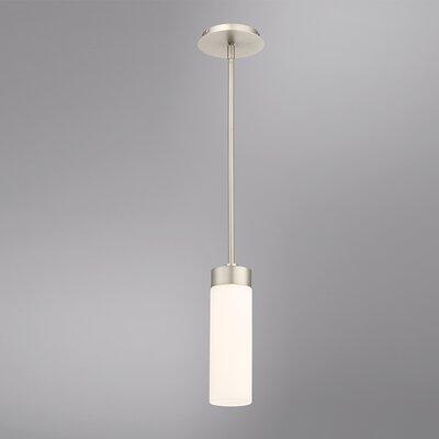 Cheswick 1-Light LED Mini Pendant Size: 11 H x 3.5 W x 3.5 D