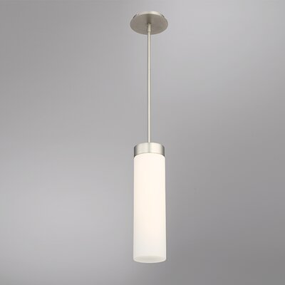 Cheswick 1-Light LED Mini Pendant Size: 16 H x 4.5 W x 4.5 D