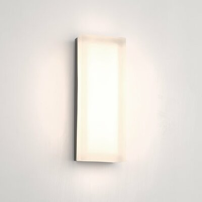 Dice Rectangular 1 Light Flush Mount