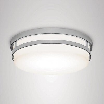 Vie 1-Light LED Flush Mount Finish: Chrome