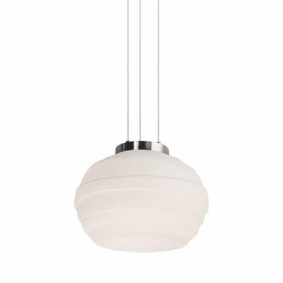 Elliptic 1-Light LED Globe Pendant