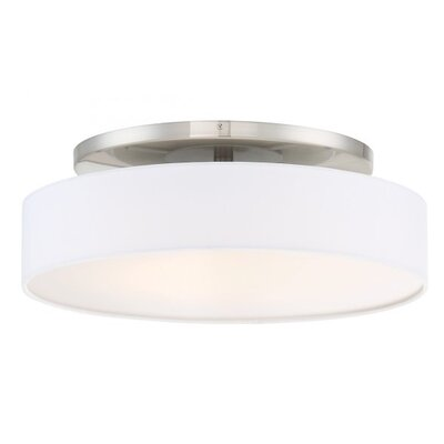 Galloway 1 Light Convertible Semi Flush Mount