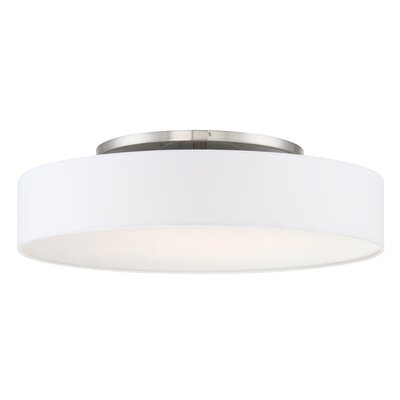 Galloway Modern 1 Light Convertible Semi Flush Mount