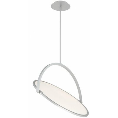Vanity 1-Light LED Geometric Pendant