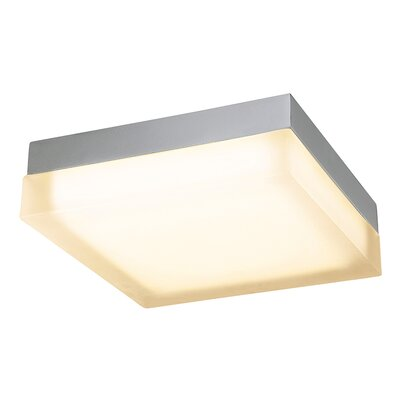 Venuti Square 1 Light Flush Mount Finish: Chrome
